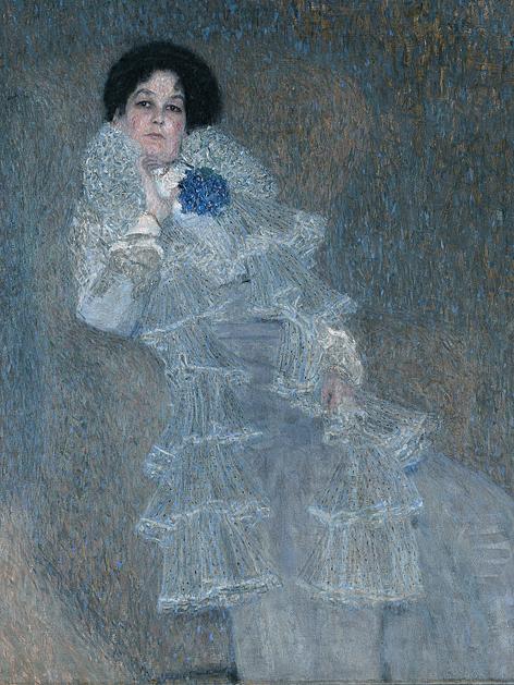 Gustav Klimt, Marie Henneberg, 1901/02, Öl auf Leinwand