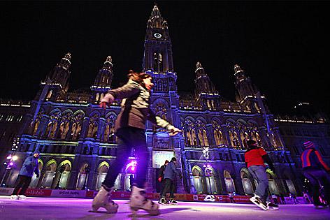 Eistraum Wiener Rathaus