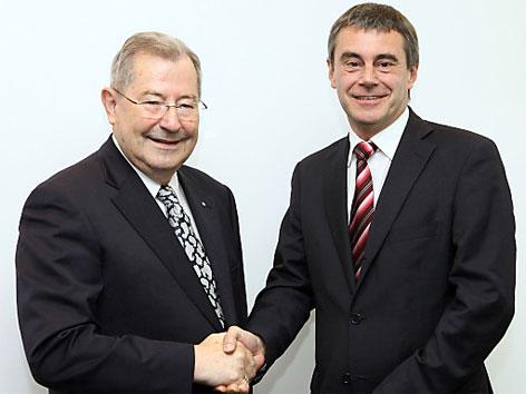 Heinrich Schaller und Ludwig Scharinger