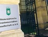 KAGes Gebäude Schild