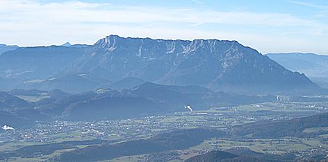 Untersberg Salzachtal Hallein Berchtesgadener Hochthron Salzburger Hochthron Tennengau