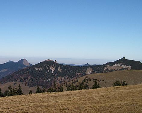 Panorama: Faistenauer Schafberg Regenspitz Gruberhorn Osterhornberge Osterhorngruppe