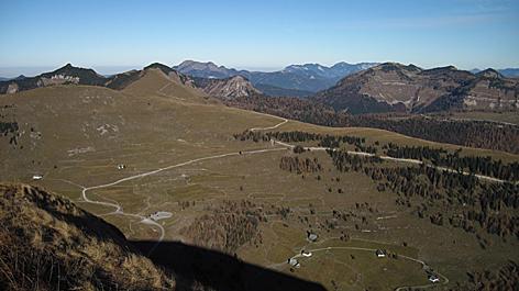Osterhornberge Osterhorngruppe Alm Almen Gennerhorn Trattberg