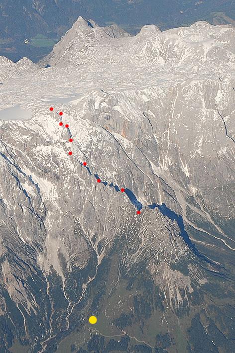 Königsjodler - Klettersteig auf dem Hochkönig