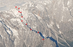 Klettersteig Königsjodler : Fotogalerie tourfotos fotos zur klettersteig tour hochkönig