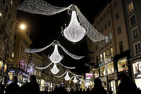 Ab Wann Weihnachtsbeleuchtung.Weihnachtsbeleuchtung Ab 24 November Wien Orf At