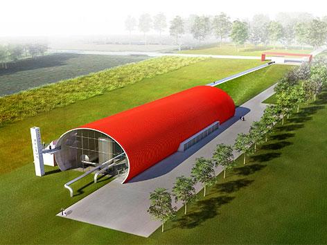 Visualisierung Geothermie-Kraftwerk Aspern