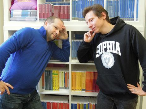 Johannes Gießauf und Armin Schmidhofer