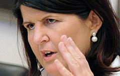 Landeshauptfrau Gabi Burgstaller