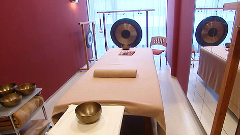 Behandlungsraum im Sonnberghof