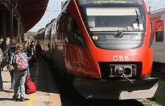 S-Bahn in Salzburg