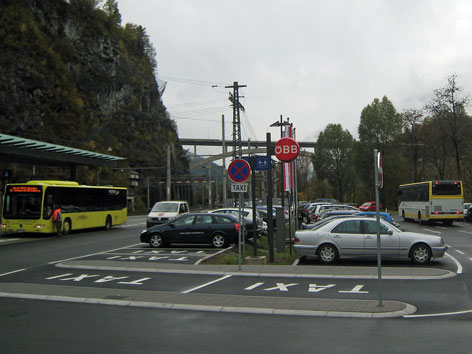 P+R am Bahnhof Imst