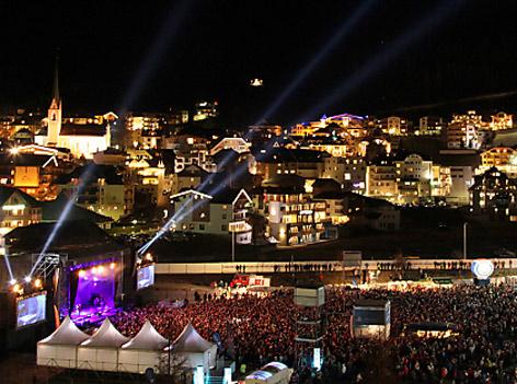 Roxette beim Konzert in Ischgl
