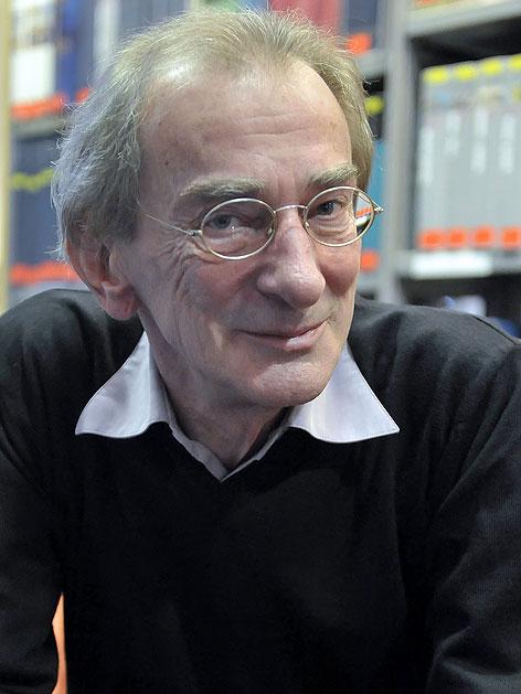 Ludwig Hirsch bei einem Interview im September 2010
