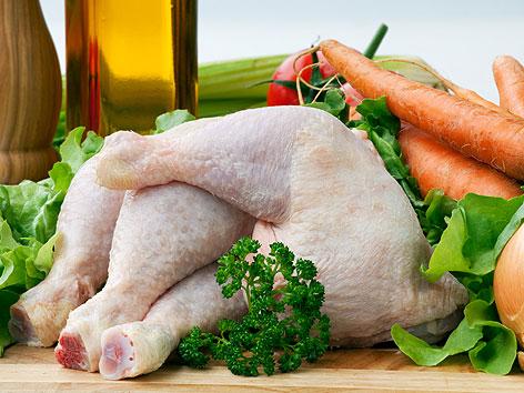 Zutaten für Hühnersuppe