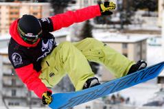 Gian Simmen, Olympiasieger Snowboard