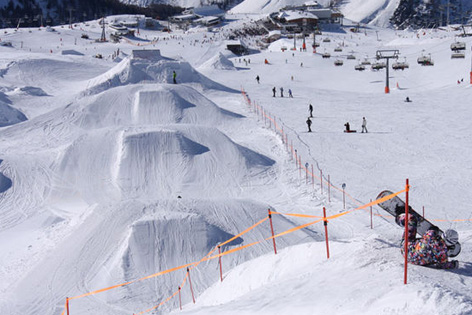 Snowboard Funkpark Idalp