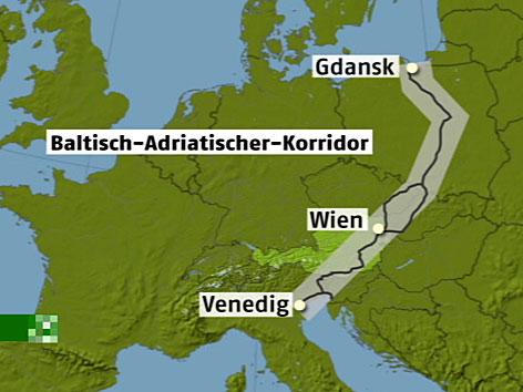 Baltisch-Adriatische-Achse, koralm, koralmtunnel, koralmbahn
