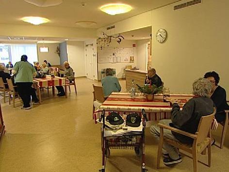 Das neue Pflegeheim in Neudörfl innen