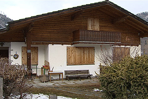 Verschlossenes Zweit-Wohnhaus, Zweitwohnung
