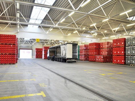 Sujet Logistikzentrum