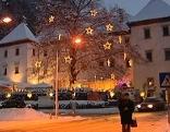 Hohenemser Palast im Schnee