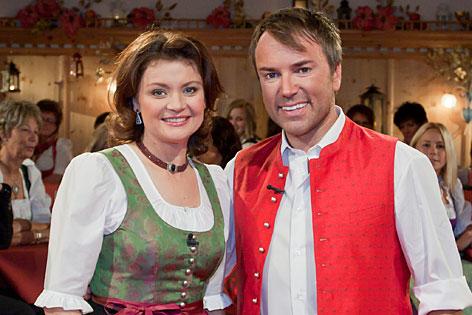 Caroline Koller und Musicalstar Uwe Kröger