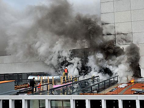 Brand in Linzer Musiktheater