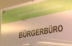 Tafel Bezirkshauptmannschaft Murtal