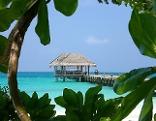 Malediven Urlaub Strand Meer