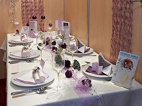 Hochzeitsmesse Wien - Tischschmuck