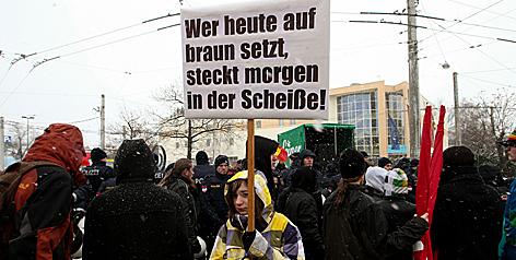 Demo gegen Strache und FPÖ in Salzburg