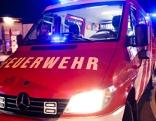 Feuerwehr Auto Brand Feuer Symbol