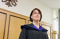 Richterin Sonja Arleth