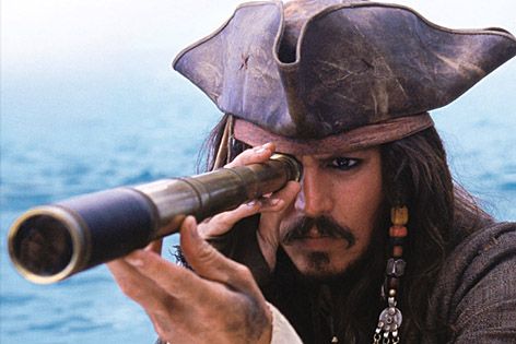 Johnny Depp, Fluch der Karibik Live