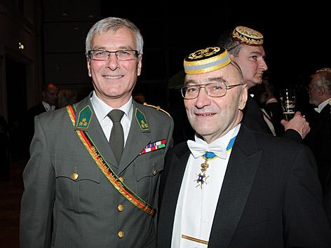 Elmar Podgorschek und Brigadier Jung