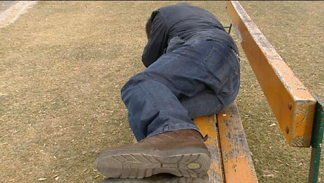 "Genrebild ""Obdachloser"""