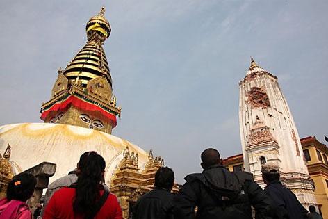 Buddhistischer Stupa in Nepal