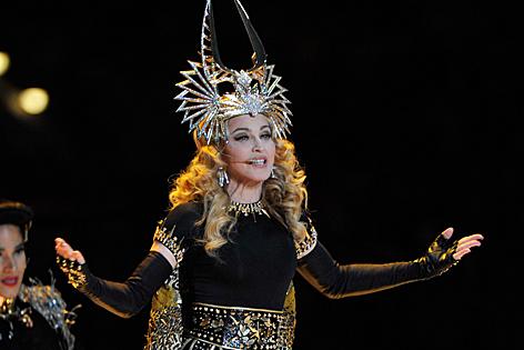 Madonna Superbowl 2012