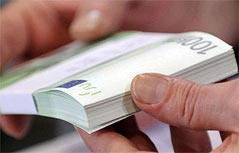 Gefälschte 100-Euro-Scheine