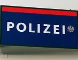 Leuchtschild der Polizei