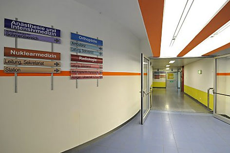 Klinik Innsbruck, innen.