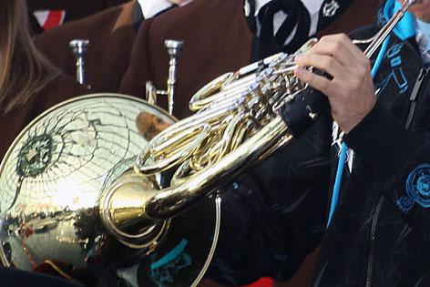 Das Musikinstrument Horn