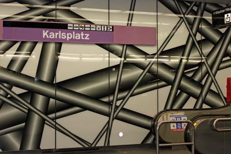 Röhre am Karlsplatz