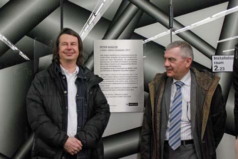 Peter Steinkogler Eröffnung