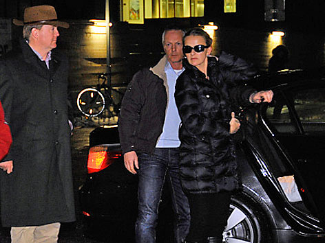 Kronprinz Willem-Alexander und die Frau von Prinz Johan Frisos Mabel
