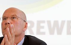 REWE CEO Frank Hensel
