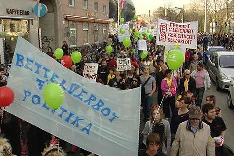 Plattform-25-Demo gegen das Sparpaket