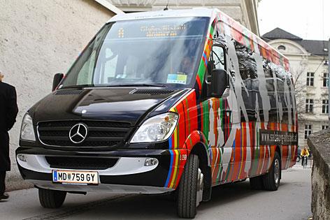 Citybus in der Salzburger Altstadt