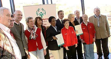 Delegation der Special Olympics zu Gast in Graz